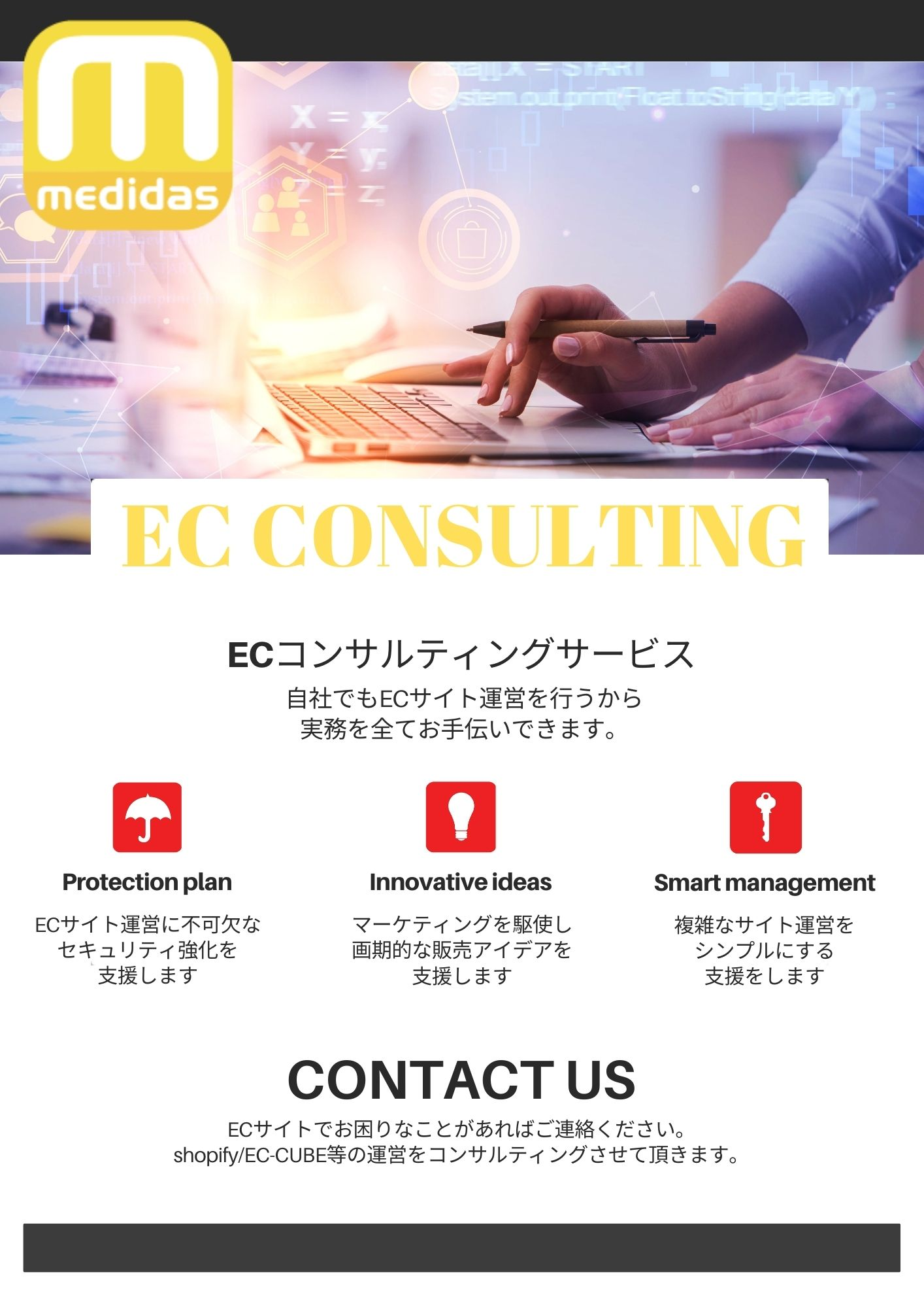 Consulting Services Flyer
